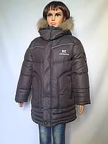 Удлиненная куртка для мальчиков, фото 2