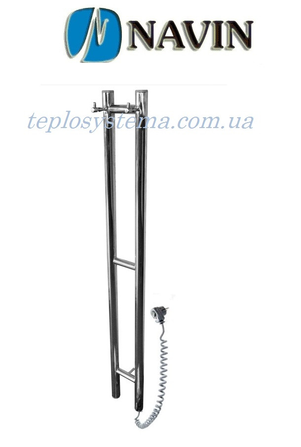 Полотенцесушитель электрический NAVIN Силуэт 160 х 1000 (с терморегулятором)