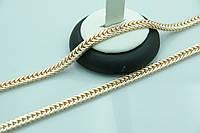 Массивные позолоченные цепи Fallon. Недорогие качественные украшения на шею оптом. 15