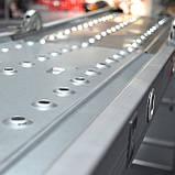 Лестница алюминиевая мультифункциональная трансформер 4*3ступ. 3.70м INTERTOOL LT-0030, фото 10