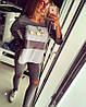 Костюм свитшор Сосо+лосины с разрезами на коленках, фото 2