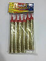 Свечи феерверк 12см 6шт в упаковке