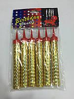 Свечи феерверк 10см 6шт в упаковке