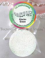 Харчові Блискітки Rainbow Dust - Glacier Green - Зелений Лід