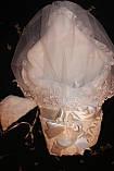 Нарядный комплект для новорожденного с вуалью, фото 2