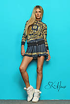 Спортивный костюм с юбкой | Chanel цепи sk, фото 3