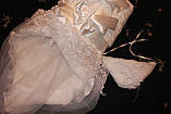 Нарядный комплект для новорожденного с вуалью, фото 5