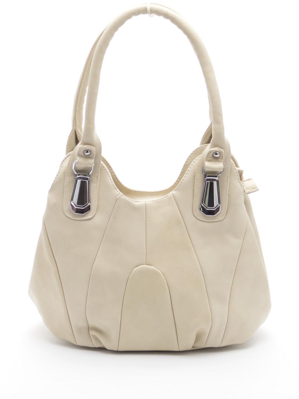 Бежевая женская сумка Б/Н art. 311