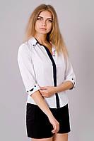 Стильная женская блузка в классическом стиле
