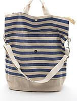 Пляжная полосатая женская сумка Б/Н art. 9463