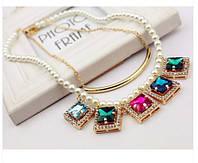 """Ожерелье """"Жемчужный кристалл"""""""