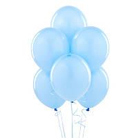 Воздушые шары голубые 100 шт. 21 см.