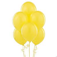 Воздушые шары желтые 100 шт. 21 см.