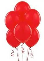 Повітряні кулі червоні 100 шт. 21 див.