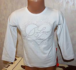Блуза нарядная  школьная 104,110,116,122 см