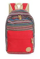 Рюкзак женский в этно стиле в модных расцветках.