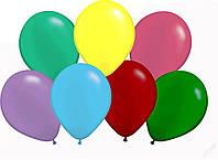 Воздушые шары неоновые микс 100 шт. 19 см.