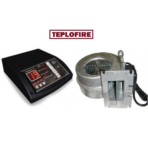 Командо-контроллер Tech ST 24 с турбиной WPA 120 дли твердотопливного котла