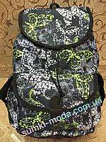 Принт рюкзак Девочка стильный спортивный спорт  городской ОПТ