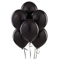 Воздушые шары черные 100 шт. 26 см.