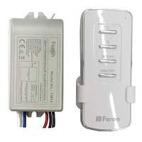 Дистанционный выключатель Feron 4484 TM72 2 channel 1000W 30M