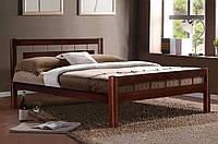 Кровать двуспальная Альмерия массив ольха