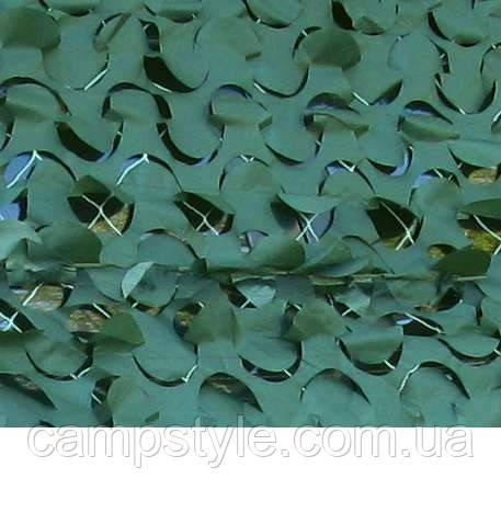 Сеть маскировочная Shelter Color 1.5 x 6 м,  темно-зеленая.
