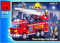 Конструктор детский Brick Пожарная охрана 904