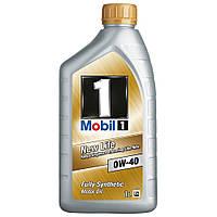 Моторное масло MOBIL 1  0W-40  1L Синтетическое