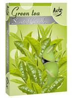 Ароматические свечи-таблетки зеленый чай Bispol p15-83