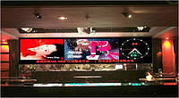 Світлодіодний екран LED P6 RGB для приміщень (w) 4.032 m* (h)m 1.536, фото 1