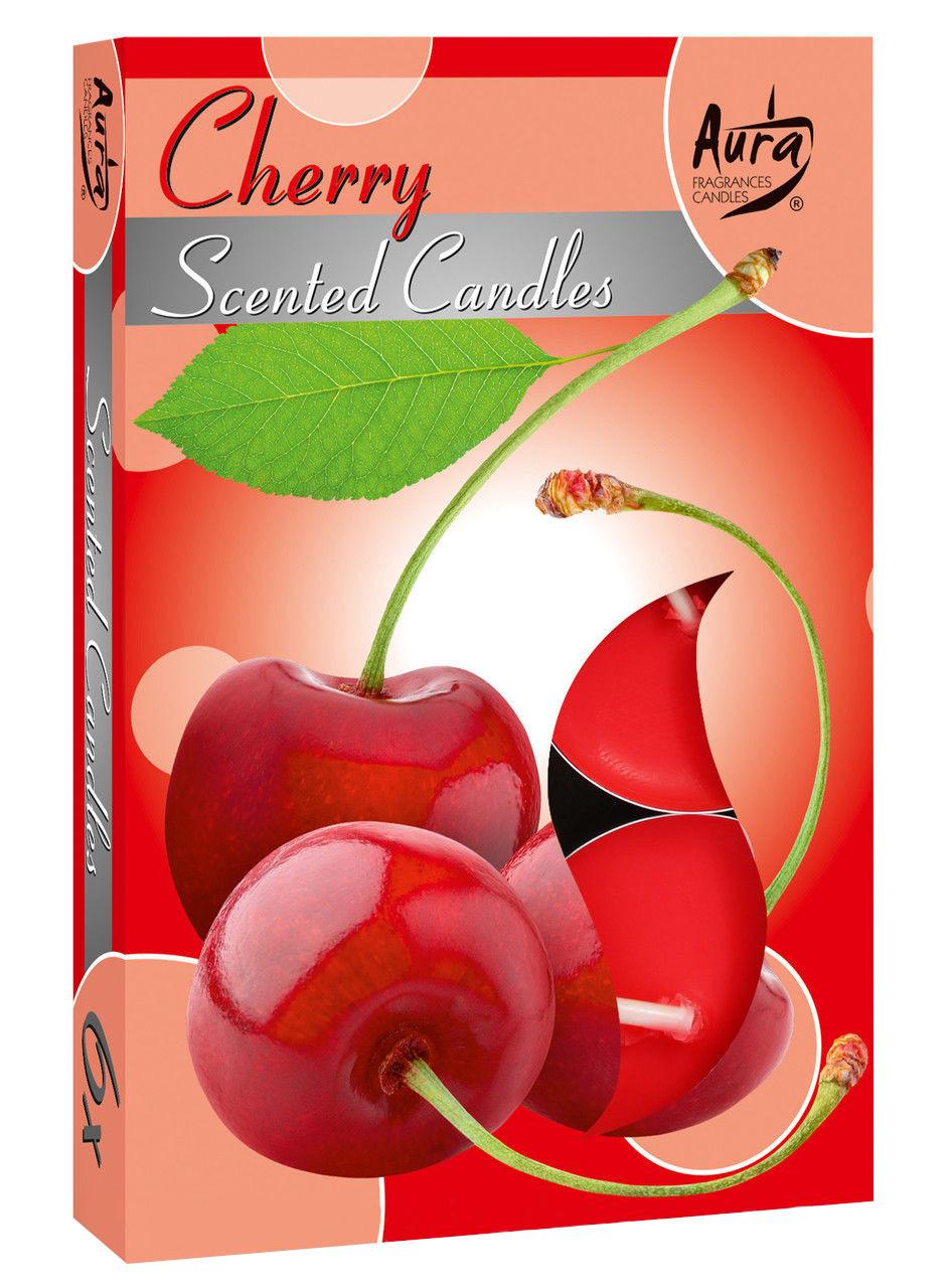 Ароматичні свічки-таблетки вишня-шоколад Bispol