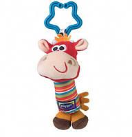 Подвесная игрушка-погремушка Жирафик на коляску