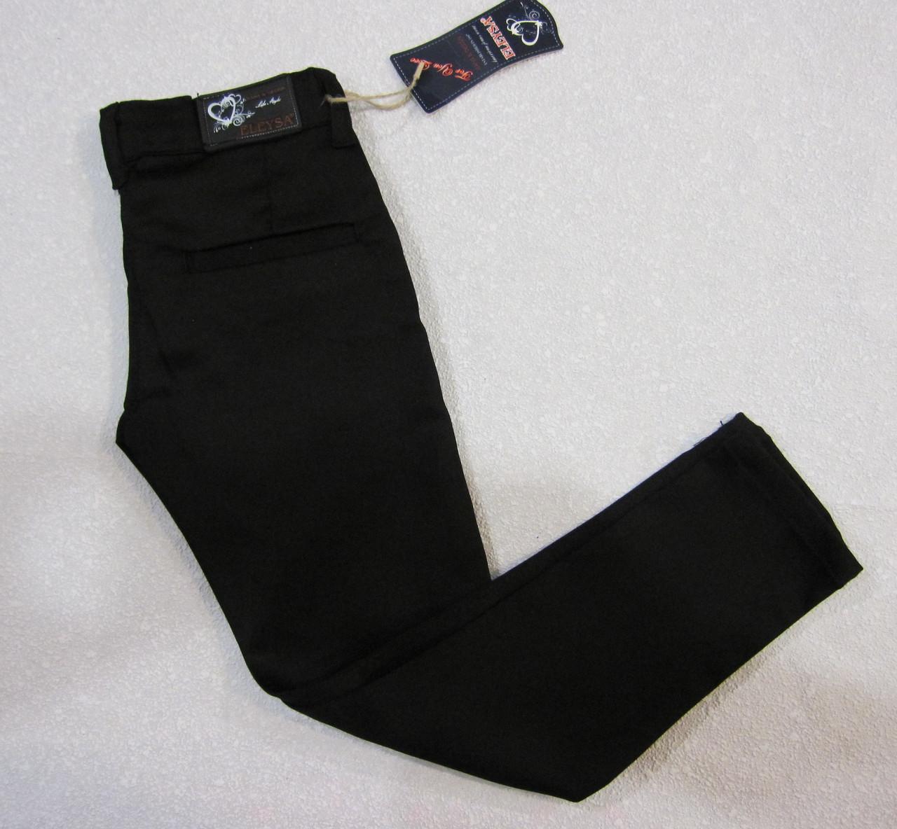 Школьные штаны с поясом на девочку 9,10,11,12 лет