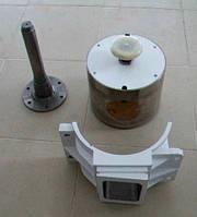 Головка к тестоделителю А2-ХТН, козырёк А2-ХТН, корпус тестовой камеры А2-ХТН