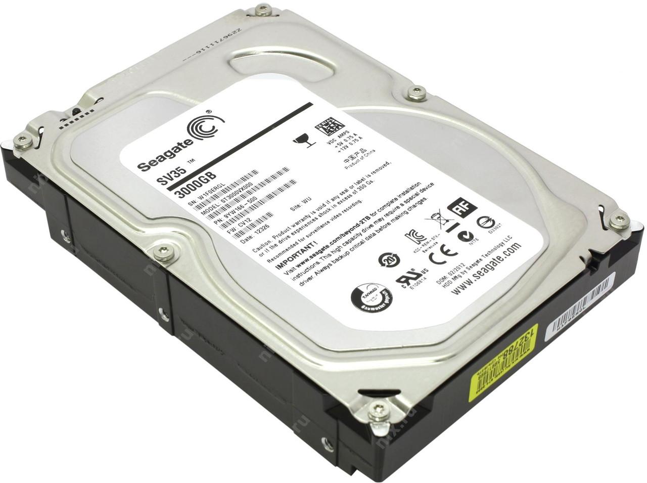 "Жесткий диск Seagate SV35 3TB  3.5"" Б/У"