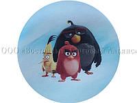 Вафельная картинка - Злые птички №1 - Ø21