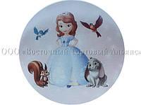 Вафельная картинка - Принцесса София №2 - Ø21