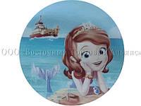 Вафельная картинка - Принцесса София №3 - Ø21