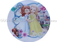 Вафельная картинка - Принцесса София №5 - Ø21