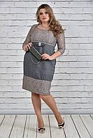 Стильное нарядное платье больших размеров (рр 42-74), разные цвета