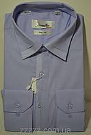 Мужская приталенная рубашка, фото 1