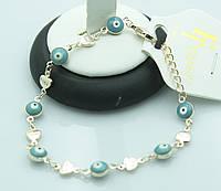 Позолоченные браслеты Fallon -обереги для женщин. Интересная бижутерия оптом недорого. 867
