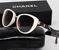 Женские солнцезащитные очки (5172) beige, фото 1