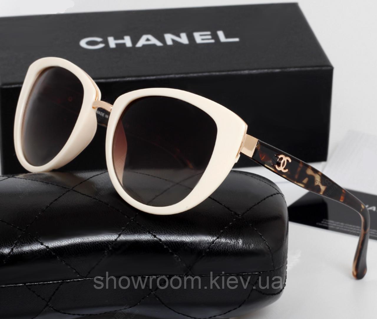 Женские солнцезащитные очки (5172) beige