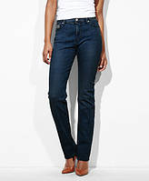 Женские джинсы Levis 512™ Perfectly Slimming Straight Jeans Dark Mineral, фото 1