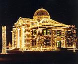 Новогоднее оформление, освещение и украшение фасада, офиса, ресторана, витрины к Новому году, фото 4