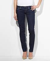 Женские джинсы Levis 524™ Triple Needle Skinny Jeans Simply Blue