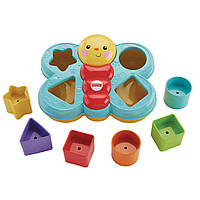 Fisher Price Сортер бабочка Sort N Spill Butterfly shape sorter, фото 1
