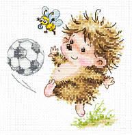 Набор для вышивки крестом Чудесная игла 19-11 Буду футболистом